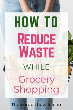 You don't have to be full on zero waste or plastic free to decrease your eco impact! If you wanna decrease plastic pollution without living a completely waste free lifestyle, you can start with these easy zero waste tips to use at the grocery store! Sustainable Food, Sustainable Living, Expired Food, Zero Waste Store, Free Groceries, Bulk Food, Reduce Waste, Food Waste, Freundlich