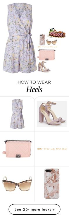 """""""#5532"""" by azaliyan on Polyvore featuring Miss Selfridge, JustFab, Chanel, Forever 21 and Dsquared2"""