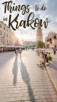 With a surprisingly ancient and modern history, Krakow is a must visit! Don't leave the city with our seeing these 12 sights! Here are our picks for the best things to do in Krakow Poland. Places To Travel, Places To See, Travel Destinations, Wedding Destinations, Holiday Destinations, European Destination, European Travel, Stuff To Do, Things To Do
