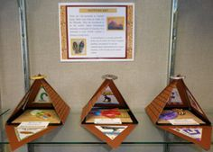 7th Grade artwork, hopi baskets, canopic jars, paintings,middle ...