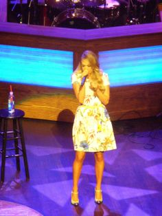 """Yes/No Films: Yes/No Films on the Road: Grand Ole Opry + Nashville, aka """"right place, right time."""" Carrie Underwood at the Opry! 5/10/14."""