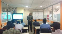 Our engineers from 380 batch giving presentations on CCNA topics under the guidance of Anand sir.it improves their presentation and communication skills. thank you, Anand sir for conducting presentations.