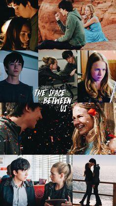 O Espaço Entre Nós Space Between Us Quotes, Space Between Us Movie, Series Movies, Movies And Tv Shows, Tv Series, Jake Bugg, Britt Robertson, Asa Butterfield, Romance Movies