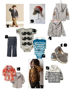 Clothes for baby boys, kinds hope the next one's a boy ;)