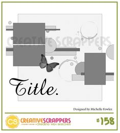 Creative Scrappers single page layout #sketch