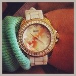 #wristcandy #seksy #watch #ombre #mintgreen #favourite #colour #orange #watches #watch #fashion #beauty #bblogger #sekonda #pretty #lush
