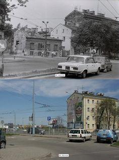 Nieistniejące domy przy Placu Bychawskim.