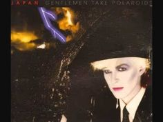 Japan - My New Career - from Gentlemen Take Polaroids - David Sylvian, Mick Karn, Steve Jansen, Rob Dean & Richard Barbieri were so ahead of their time. The level of sophistication and musical talent they had at such a young age was unreal. Music Film, Music Songs, Uk Music, Roxy Music, Blitz Kids, Burning Bridges, Pochette Album, Album Cover Design, Best Track