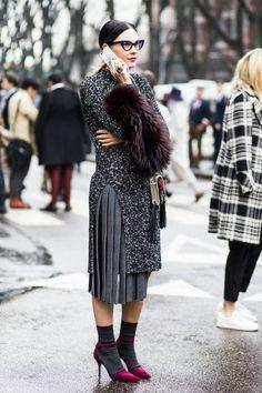 (via (3677) Street Style: Milan Fashion Week Fall '15 |...