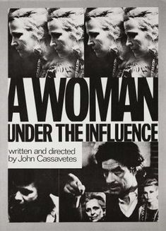 """A Woman Under the Influence"" poster"