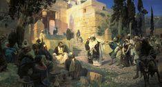 Jesus Christ and The Sinner by Vasily Polenov