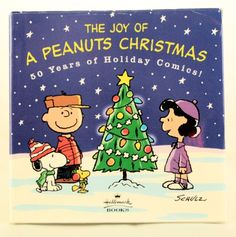 The Joy of a Peanuts Christmas: 50 Years of Holiday Comics! by Charles M. Schulz http://smile.amazon.com/dp/015012628X/ref=cm_sw_r_pi_dp_HlAfvb1Y82MBG