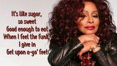 Chaka Khan- Like Sugar Cake Cutting Songs, Black Female Artists, Chaka Khan, Song Suggestions, People Quotes, Other People, Lyrics, Long Hair Styles, Feelings