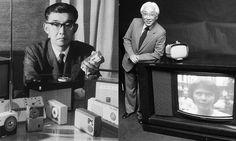 Coloro che 70 anni fa fondarono quella che oggi è Sony: Masaru Ibuka e Akio Morita.