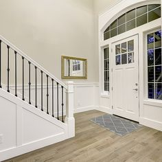The property 10827 SE St, Bellevue, WA 98004 is currently not for sale on Zillow. View details, sales history and Zestimate data for this property on Zillow. Home Upgrades, Modern Staircase, Entry Way Design, New Homes, Stair Railing Makeover, Stairway Walls, Staircase Makeover, Foyer Colors, Stairs