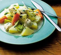 St David's leek & chicken hotpot. Make St David's day one to remember with this deliciously hearty hotpot.