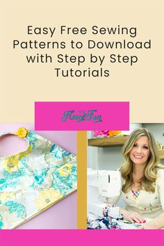 With over 180 FREE pdf sewing patterns, this site has everything from decor to aprons to shorts and beyond! a lot of the patterns include a step-by-step video to make it easy to follow. Great Sewing Projects. Love this! Easy Sewing Patterns, Easy Sewing Projects, Sewing Projects For Beginners, Sewing Hacks, Sewing Tutorials, Sewing Tips, Fun Projects, Diy Clothing, Sewing Clothes