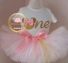 Check out this item in my Etsy shop https://www.etsy.com/ca/listing/214731234/pink-and-gold-birthday-outfit-pink-and