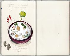 mercè lópez: Sopa Thai