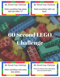 60 Second LEGOChallenge