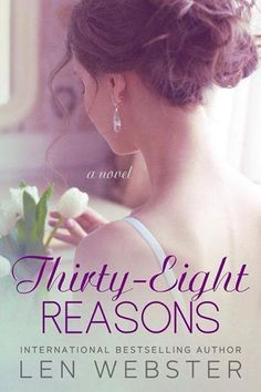 ~ Cover Reveal ~ Thirty-Eight Reasons by Len Webster Contemporary Romance  Click share to spread the cover love!   Loved working with Len!! I can't wait to do more