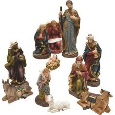 Remember your faith every day with 11-Piece Holy Fam... Check it out here http://iwannabeasaint.myshopify.com/products/v704-32260870-11-piece-holy-family-and-three-kings-inspirational-religious-christmas-nativity-set?utm_campaign=social_autopilot&utm_source=pin&utm_medium=pin