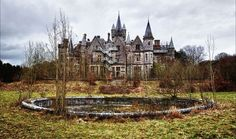 Abandoned Chateau Miranda Maybe I can talk my husband to buying and flipping.