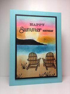 By the Sea 2, Life is Good, GKD, by beesmom - Cards and Paper Crafts at Splitcoaststampers