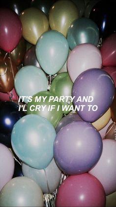 A festa é minha e eu choro se eu quiser