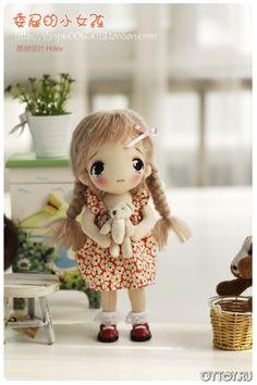 Идеи для шитья текстильной куклы тряпиенса. Идеи для создания куклы тряпиенса ♡