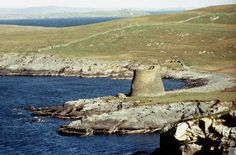 Mousa Broch, Shetland. One of the finest surviving Iron Age brochs to be found.