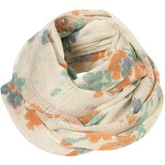 TOPSHOP Ditsy Scatter Floral Snood (€29) ❤ liked on Polyvore featuring accessories, scarves, pañuelos, oatmeal, topshop, floral shawl, snood scarves, lightweight scarves and viscose scarves