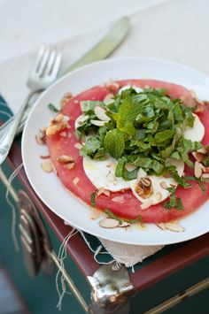 Anguria Mozzarella Salad