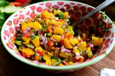 The first time I ever tried peach salsa was in 1993. Don't ask me how I'm able to remember these things. Honestly, on a scale of 1 to 10 in terms of daily forgetfulness, I would say I r…
