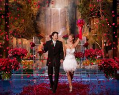 The Wynn Las #Vegas wedding chapel at Tryst! Exciting!