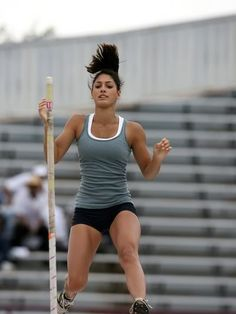Allison Stokke Fit Girl Motivation, Fitness Motivation, Beautiful Athletes, Athletic Events, Pole Vault, Long Jump, Female Athletes, Women Athletes, Sporty Girls