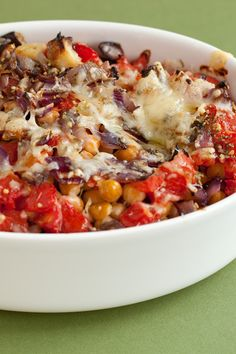 Go meatless! This is an easy, delicious recipe the whole family will love. Fast Healthy Meals, Make Ahead Meals, Easy Healthy Recipes, Easy Meals, Meatless Recipes, Epicure Recipes, Cooking Recipes, Baked Eggplant, Veggie Tales