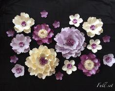 SECRET GARDEN paper flower wall /backdrop /Christening /