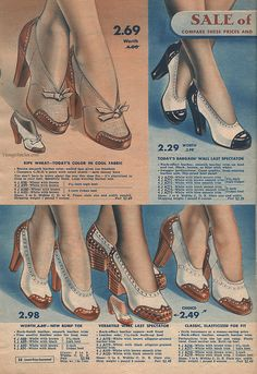 Summer 1942 Sale - Chicago Mail Order Company | VintageStitches.com
