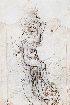 In de nalatenschap van een Franse verzamelaar zat een tekening van Leonardo da Vinci. De geschatte waarde is 15 miljoen euro.