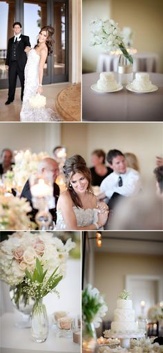White Wedding by Jasmine Star | Style Me Pretty