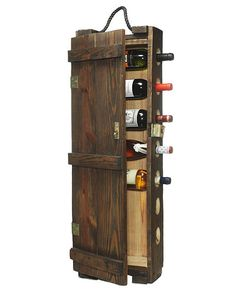 AMMUNITIONS CASE WINE RACK | Handmade, Rustic, Recycled Aged Wood Bottle Storage | UncommonGoods