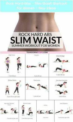 Rock Hard Abs – Slim Waist Workout for Women – New Ideas Rock Hard Abs – Slim Waist Workout for Women – New Ideas Source by The post Rock Hard Abs – Slim Waist Workout for Women – New Ideas Rock Hard Abs & appeared first on Roisin Health Fitness. Slim Waist Workout, Workout For Flat Stomach, Smaller Waist Workout, Flat Stomach Challenge, Bigger Hips Workout, Summer Body Workouts, Gym Workout Tips, Workout Videos, Workout Plans