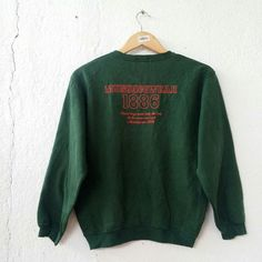 """MUNSING WEAR 1886 Penguin Club Women Sweatshirt Jumper Pullover Size S VSS438  Tag reads: MUNSING WEAR (160) Seem fit S Chest (below armpit to other below armpit): 20"""" inches Front length of shirt (top of shoulder to bottom of product): 23"""" inches Condition:  Vintage pre owned condition. Commonly slightly faded due to ages and use.   ** WE ARE USING DHL EXPRESS,PLEASE LEAVE YOUR PHONE NUMBER ON THE NOTE  WHILE MAKE A PURCHASE**  If you have any questions, feel free to message me!"""