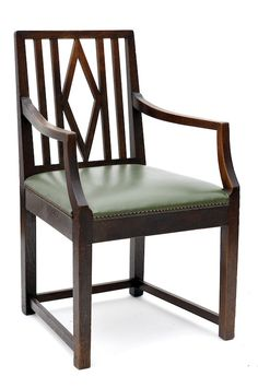 BRUNO PAUL armchair, 1907.  |  SOLD $916 Germany, 2011