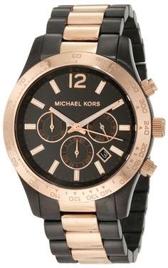 Michael Kors Chronograph Gunmetal Watch. Available at PureAtlanta.com