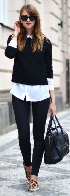 Office Outfit | sweater wearing ideas 17 ways to wear style sweater with 29