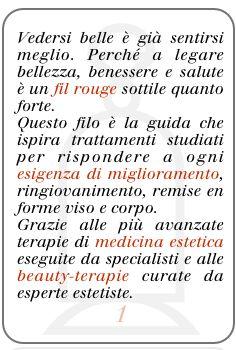La Bellezza è Terapeutica (Mariabruna Beauty-Medical O3 Zone)