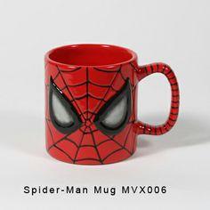 MVX 0006 - Spiderman Mug (front)