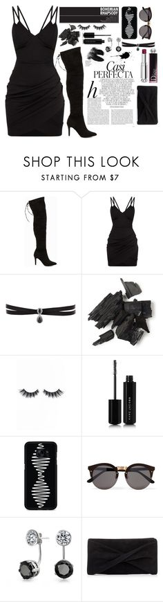 """""""Casi Perfecta"""" by selenaisunshine ❤ liked on Polyvore featuring Whiteley, Nly Shoes, Fallon, Violet Voss, Marc Jacobs, Samsung, Illesteva, Bling Jewelry, Reiss and Christian Dior"""